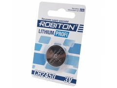 Элемент питания литиевый Robiton СR 2450